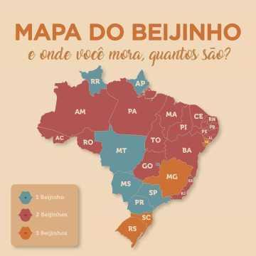 Saiba onde se dá 1, 2 ou 3 beijos para cumprimentar alguém no Brasil