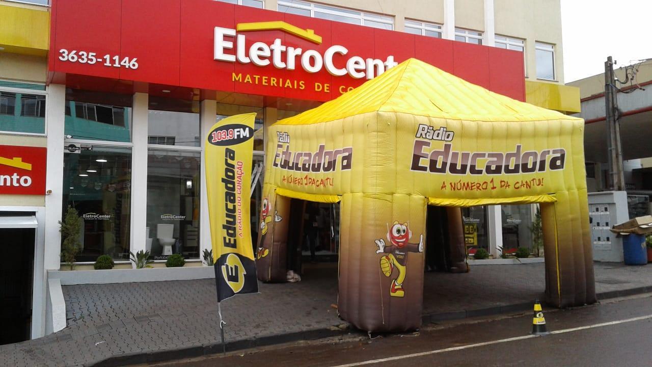 Confira os ganhadores da promoção de aniversário da Eletrocenter