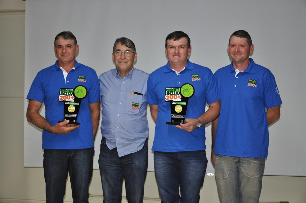 Adilson Palaoro de Porto Barreiro é novamente campeão do Soja 200+ da Coprossel