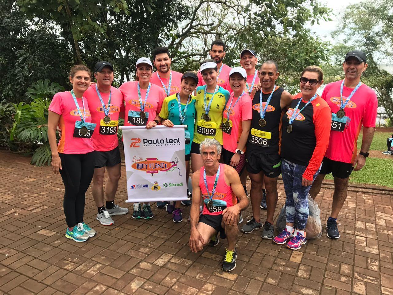 Equipe Body Planet é destaque na Meia Maratona das Cataratas em Foz
