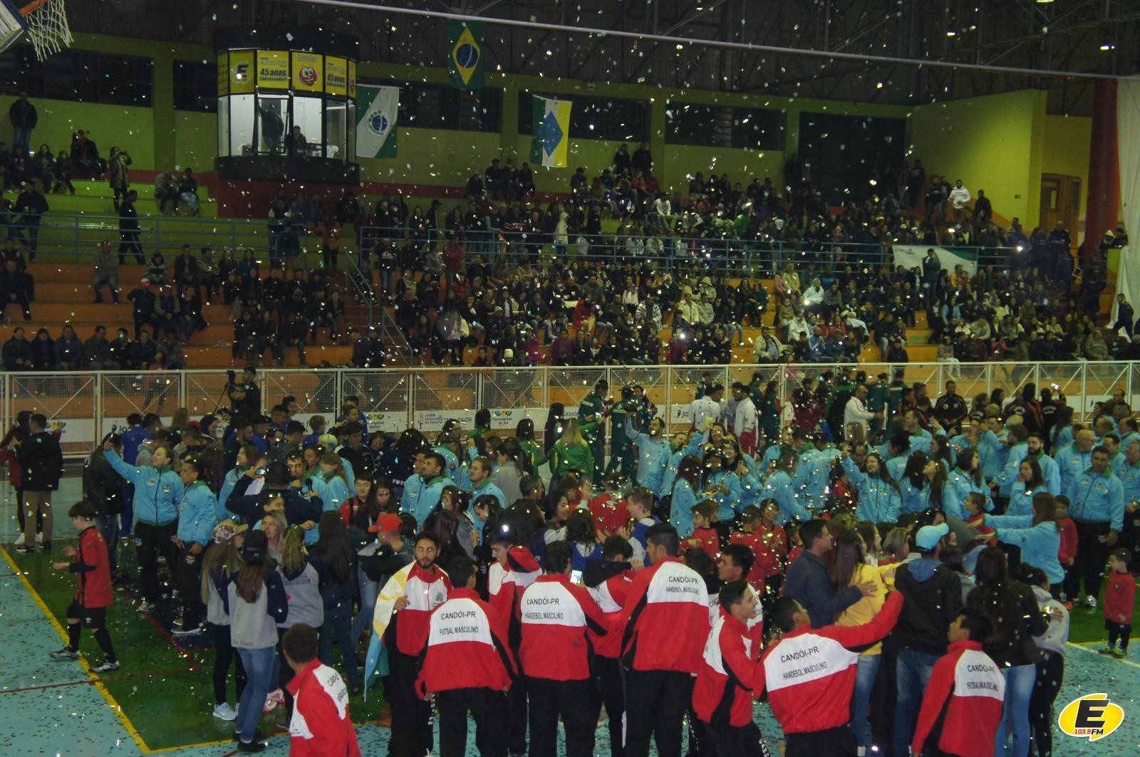 Fase regional dos Jogos Abertos do Paraná iniciou em Laranjeiras do Sul
