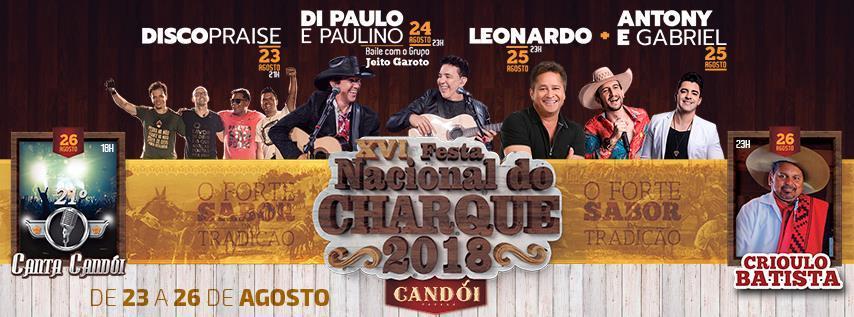 Festa Nacional do Charque terá shows nacionais, tropeada e muito mais