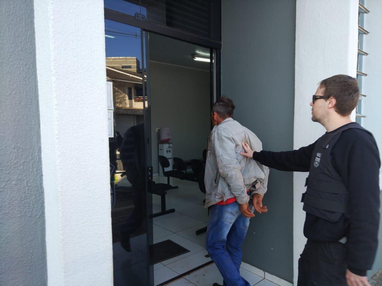 Operação Sicariun deflagrada hoje pela manhã tem seis detidos, um morto e um foragido em Rio Bonito do Iguaçu