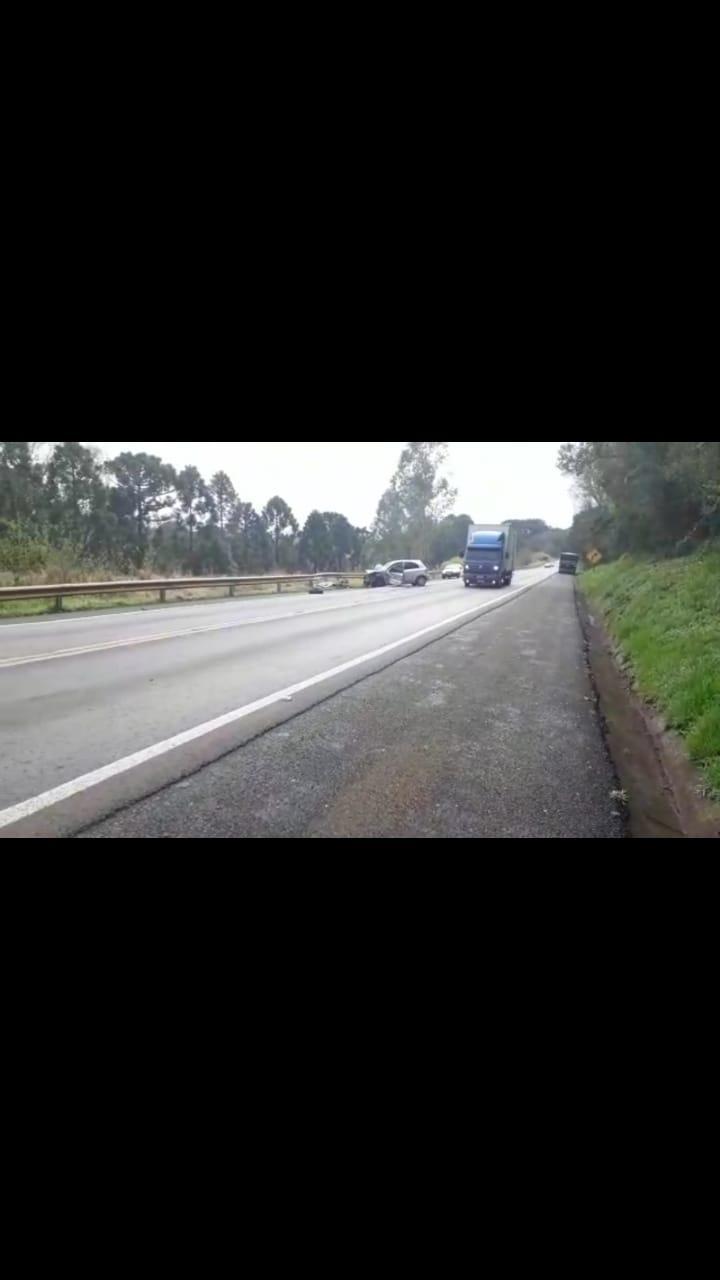GRAVE ACIDENTE É REGISTRADO NA BR-277 ENTRE CANTAGALO E VIRMOND