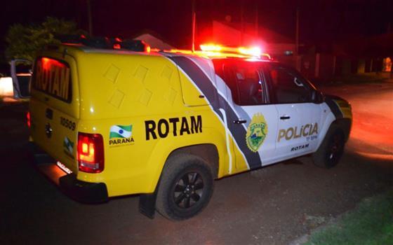 ROTAM ATENDE BRIGA EM ESTABELECIMENTO EM LARANJEIRAS DO SUL
