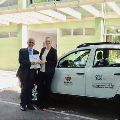 Assiscop recebe veículo 0KM do Governo Estadual