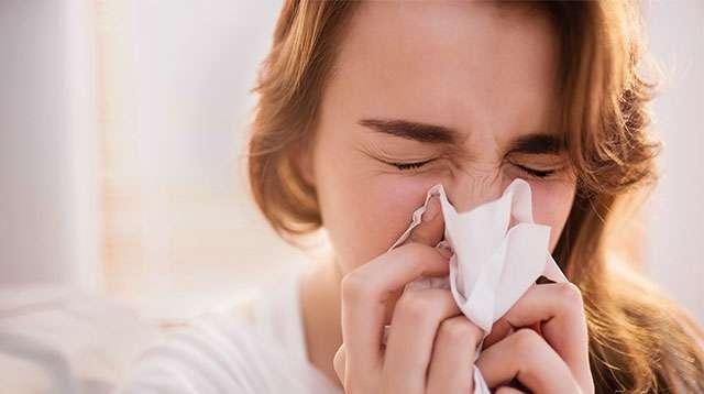 Com clima quente e úmido, alergias se tornam mais frequentes