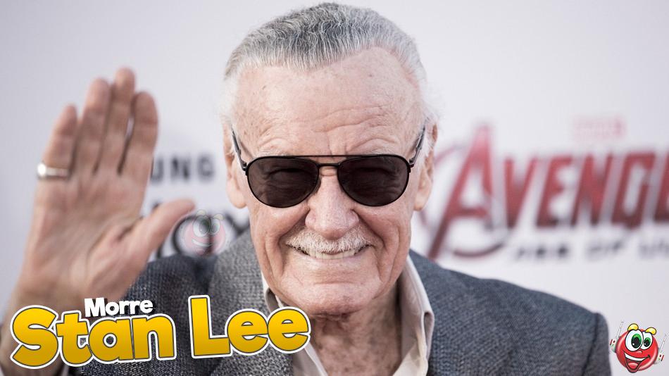 Stan Lee morre aos 95 anos, diz site
