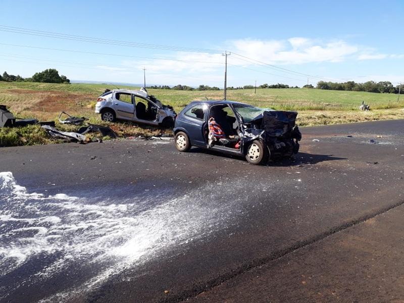 Acidente na BR 373 em Candói mata seis pessoas