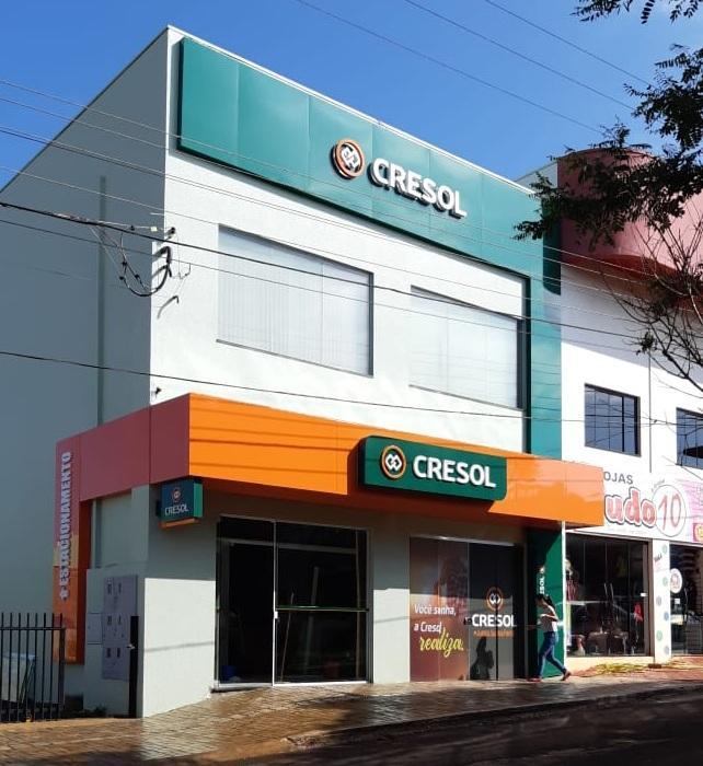 Cresol inaugura hoje à noite nova agência em Rio Bonito do Iguaçu