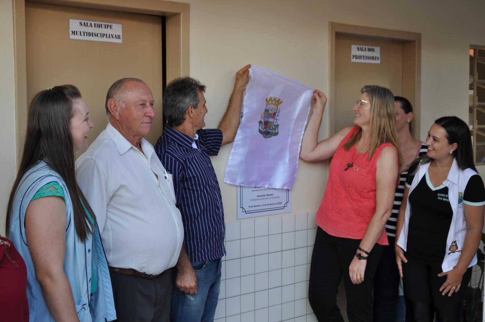 Escola Irmã Inês Vailatti é inaugurada em Porto Barreiro