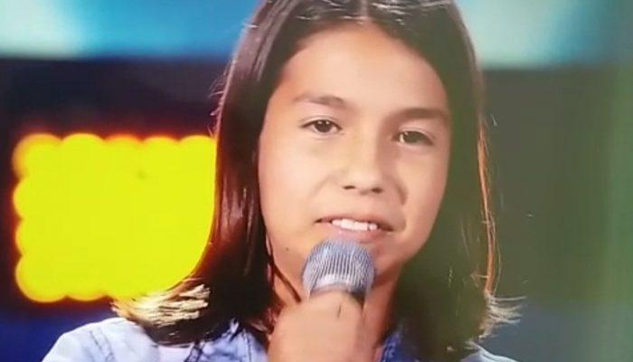 "Jovem de Itapejara D´Oeste faz bonito no ""The Voice Kids"""