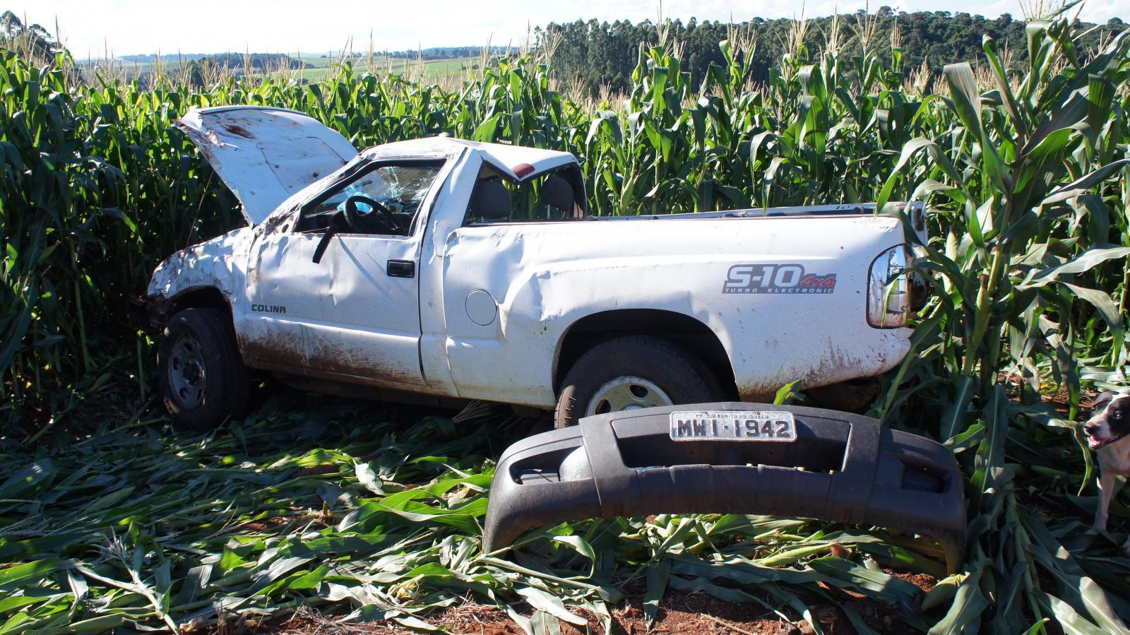 Grave acidente deixa um morto e outro ferido na PR-158 em Rio Bonito do Iguaçu