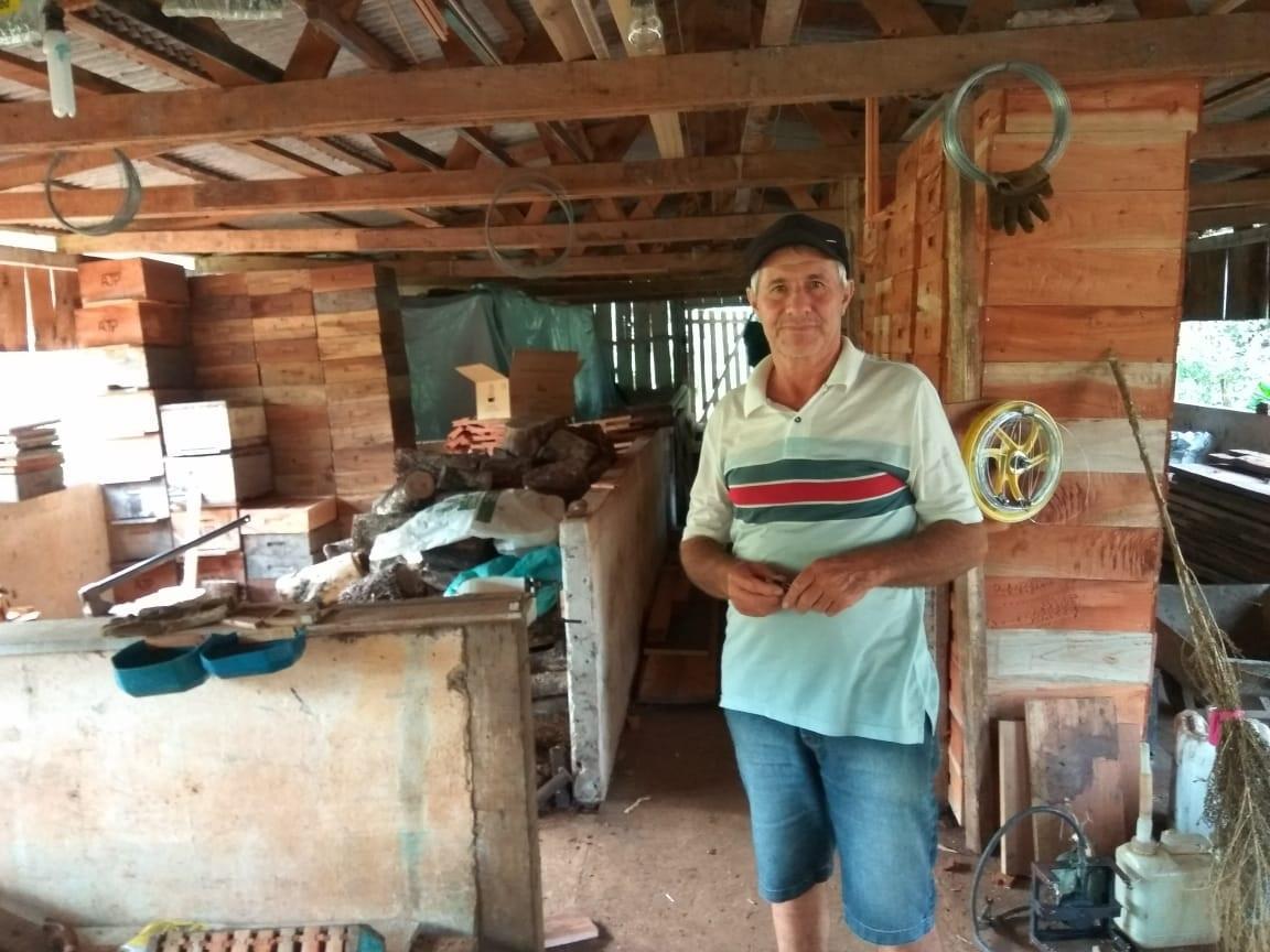 Morre aos 62 anos Adelar Petró, apicultor de referência nacional