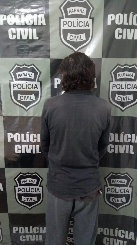Policia Civil prende homem por violência doméstica em Laranjeiras do Sul