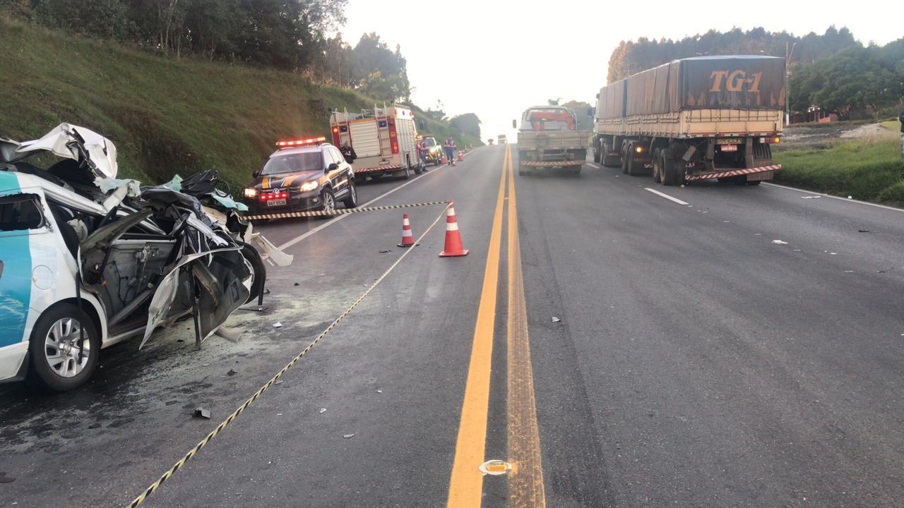Carro da secretaria de Saúde de Marquinho se envolve em acidente com vítima fatal