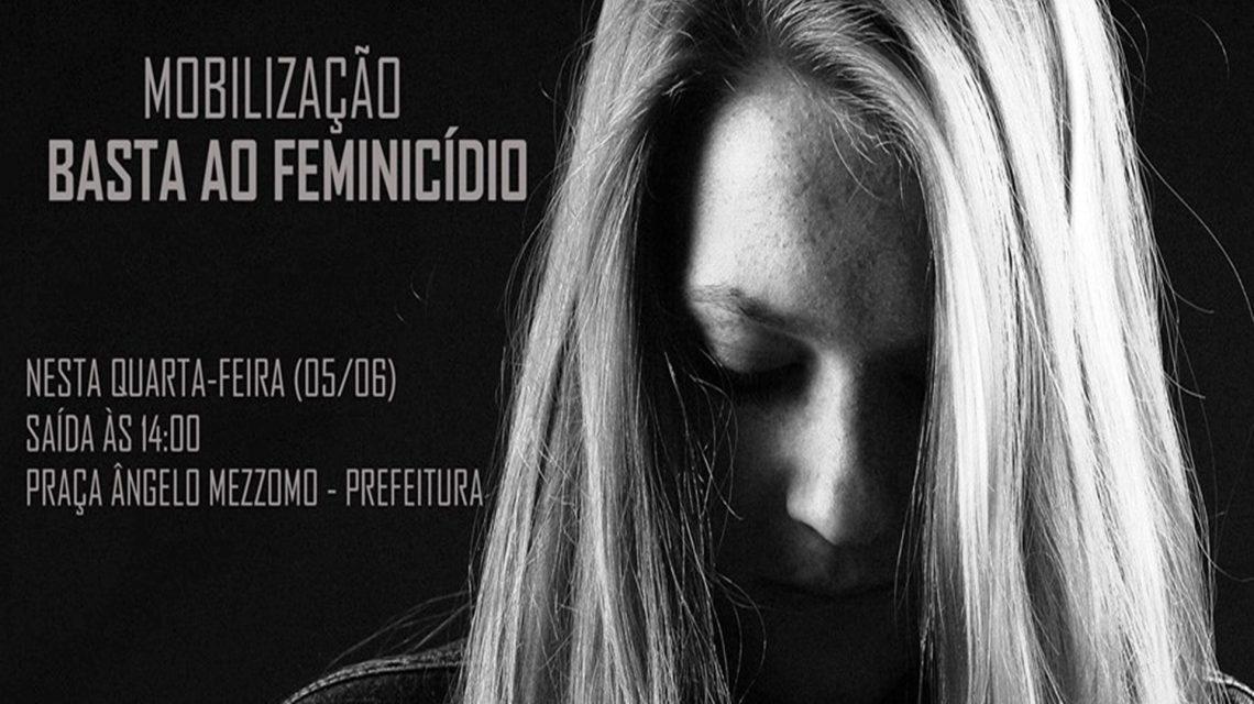 Coronel Vivida realiza mobilização contra o feminicídio nesta quarta-feira
