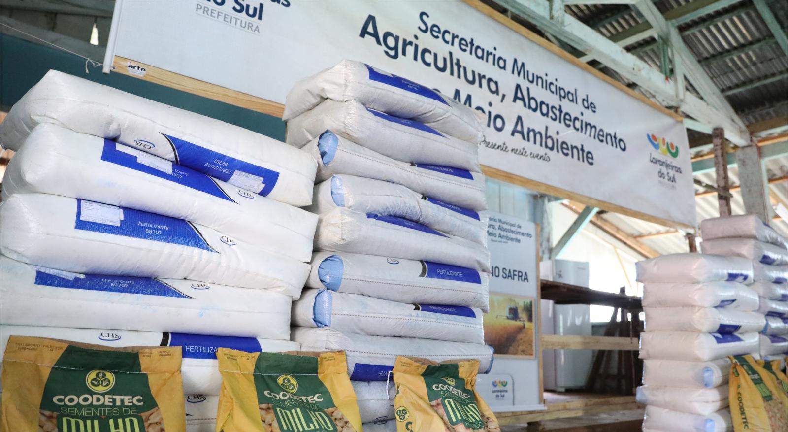 Prefeitura vai investir mais de R$ 1 milhão para atender 369 produtores no Plano Safra