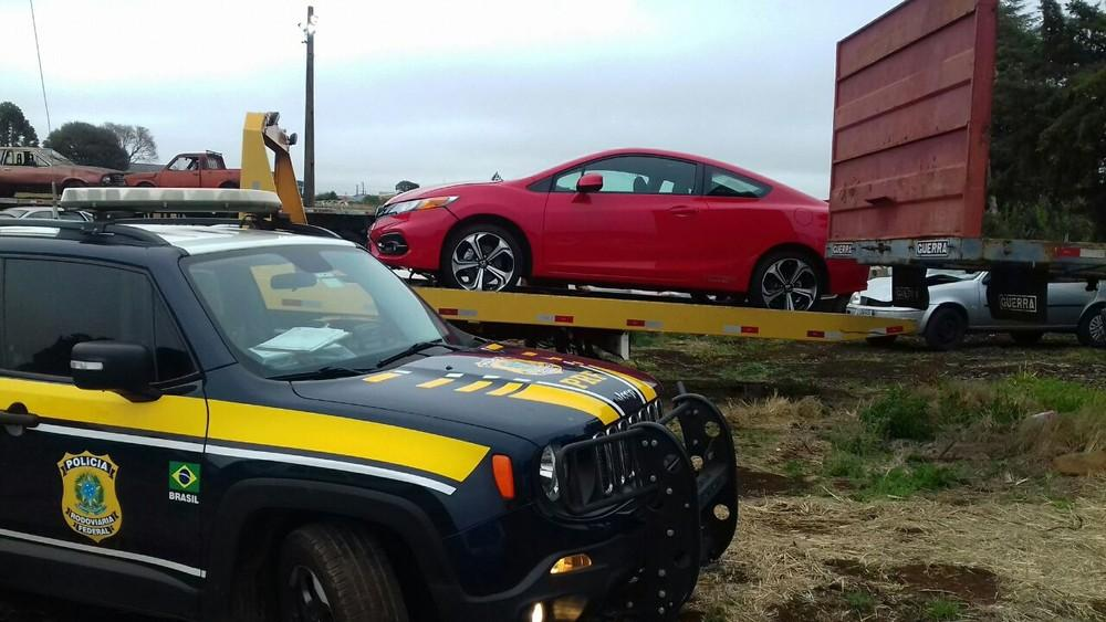 Carro de empresário morto em Curitiba é encontrado em Guarapuava