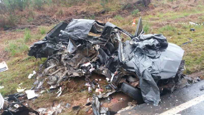 Gravíssimo acidente na BR 277 deixa três mortos em Palmeira