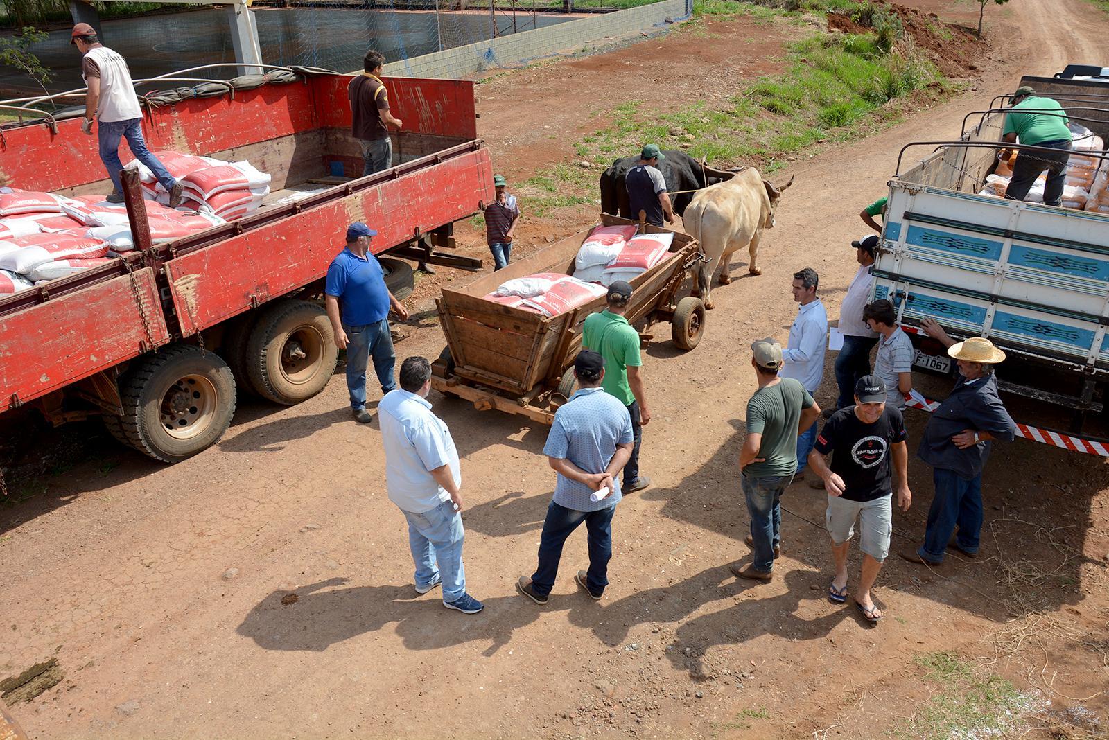 Confira a programação da entrega do Plano Safra 2019/2020 em Laranjeiras do Sul
