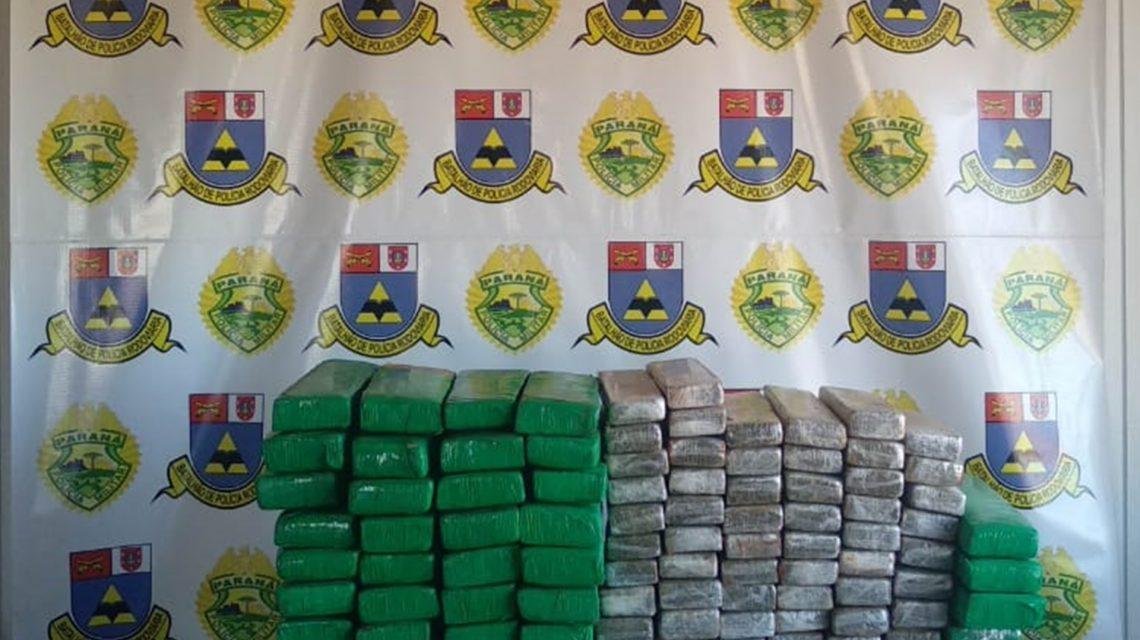 Polícia Rodoviária Estadual apreende mais de 70 Kg de maconha em Realeza