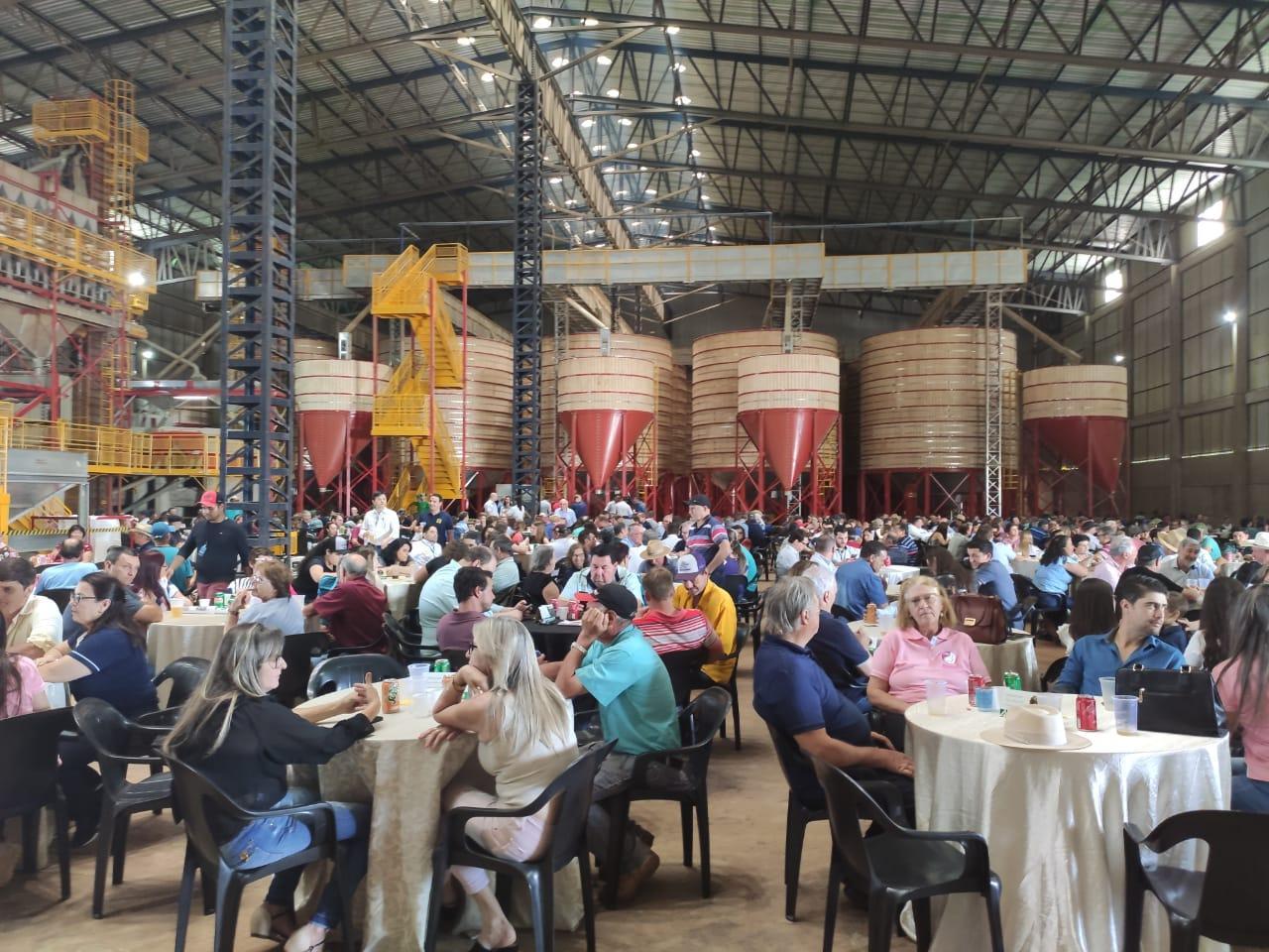 Coprossel inaugura nova Unidade de Beneficiamento de Sementes
