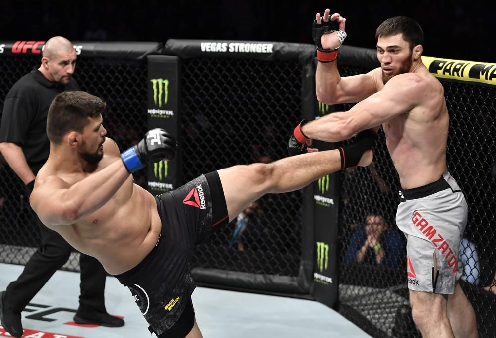 """Amazonense """"Klidson Abreu, treinado pelo """"laranjeirense"""" Kleber Ramalho, é superado por Gamzatov no UFC Moscou"""
