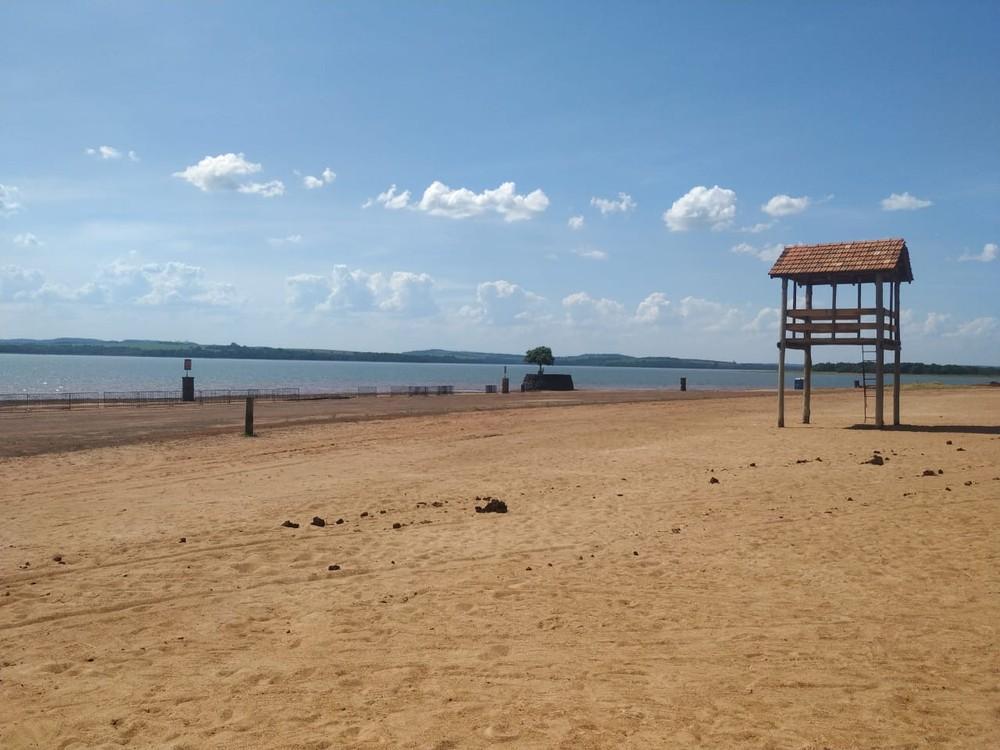 Prainha é interditada para banho em Marechal Cândido Rondon