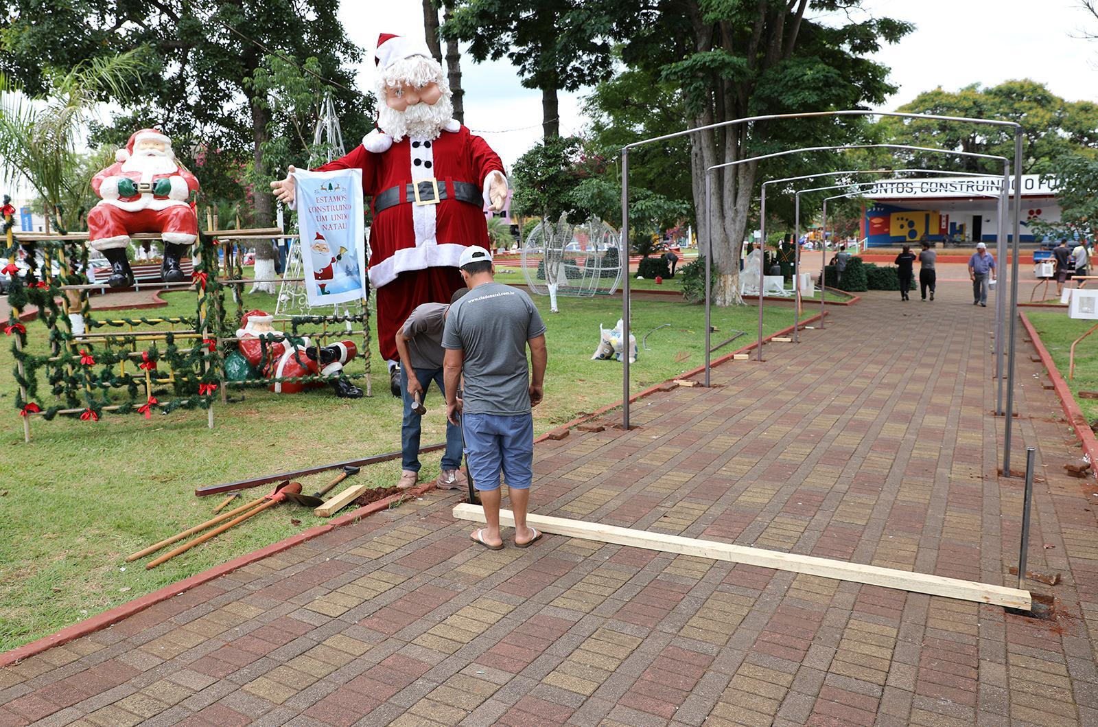 Abertura do Natal Iluminado de Laranjeiras do Sul acontece amanhã