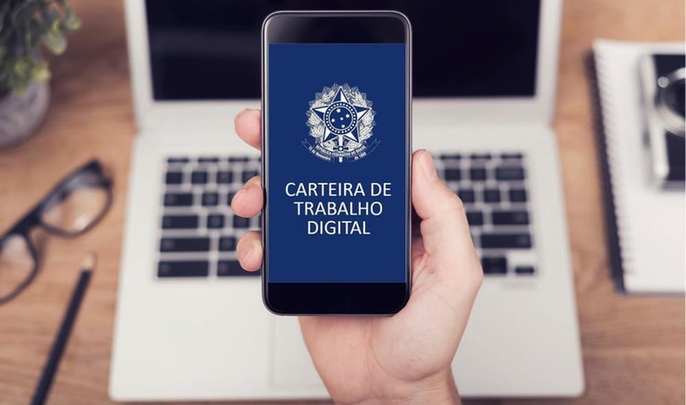 Saiba como habilitar  a carteira de trabalho digital