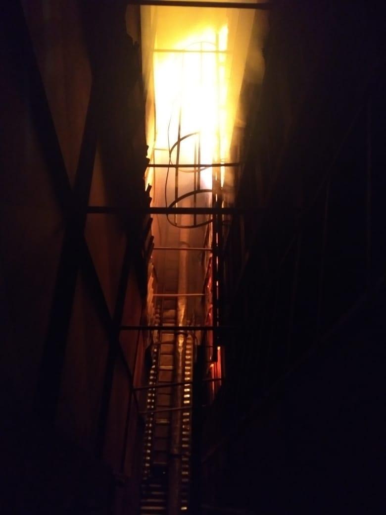 Bombeiros combatem incêndio por quase 24 horas em Rio Bonito do Iguaçu