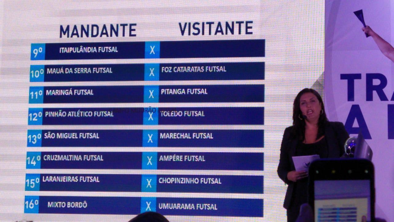 Copa Paraná: Operário Laranjeiras Futsal enfrentará Acel Chopinzinho