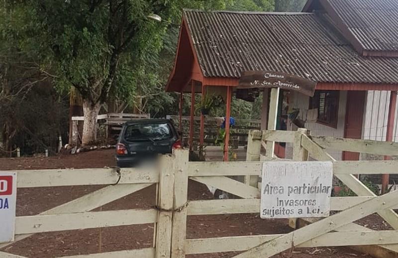 Quadrilha faz arrastão em propriedade rural de Pinhão