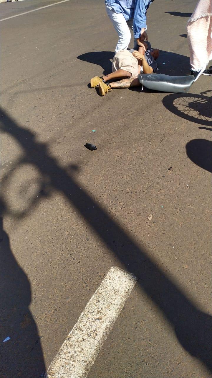 Jovem envolvido em acidente de motocicleta morre em Laranjeiras do Sul