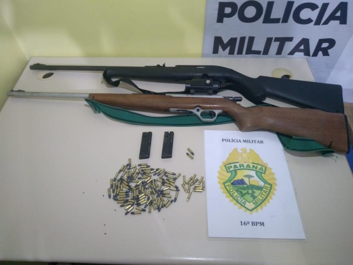 Operação combate resulta em prisões e apreensões em Laranjeiras do Sul e Cantagalo