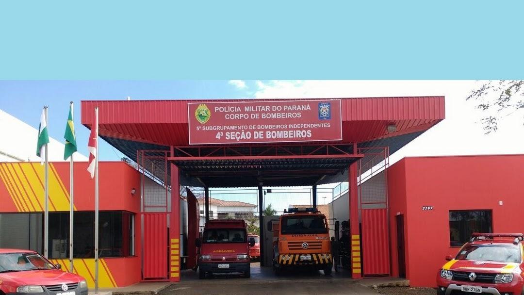 Laranjeiras do Sul: Bombeiros controlam incêndio em veículo