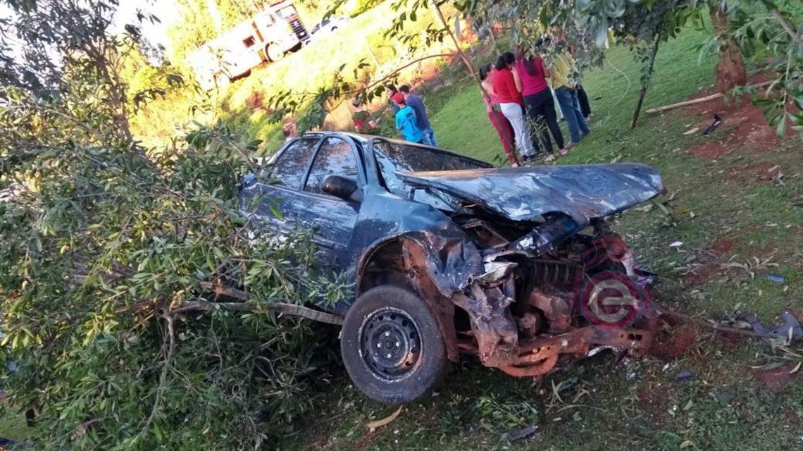 Candói: Homem fica gravemente ferido em acidente na BR-373