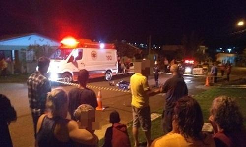 Filho é acusado de atropelar e matar o próprio pai em Quedas do Iguaçu