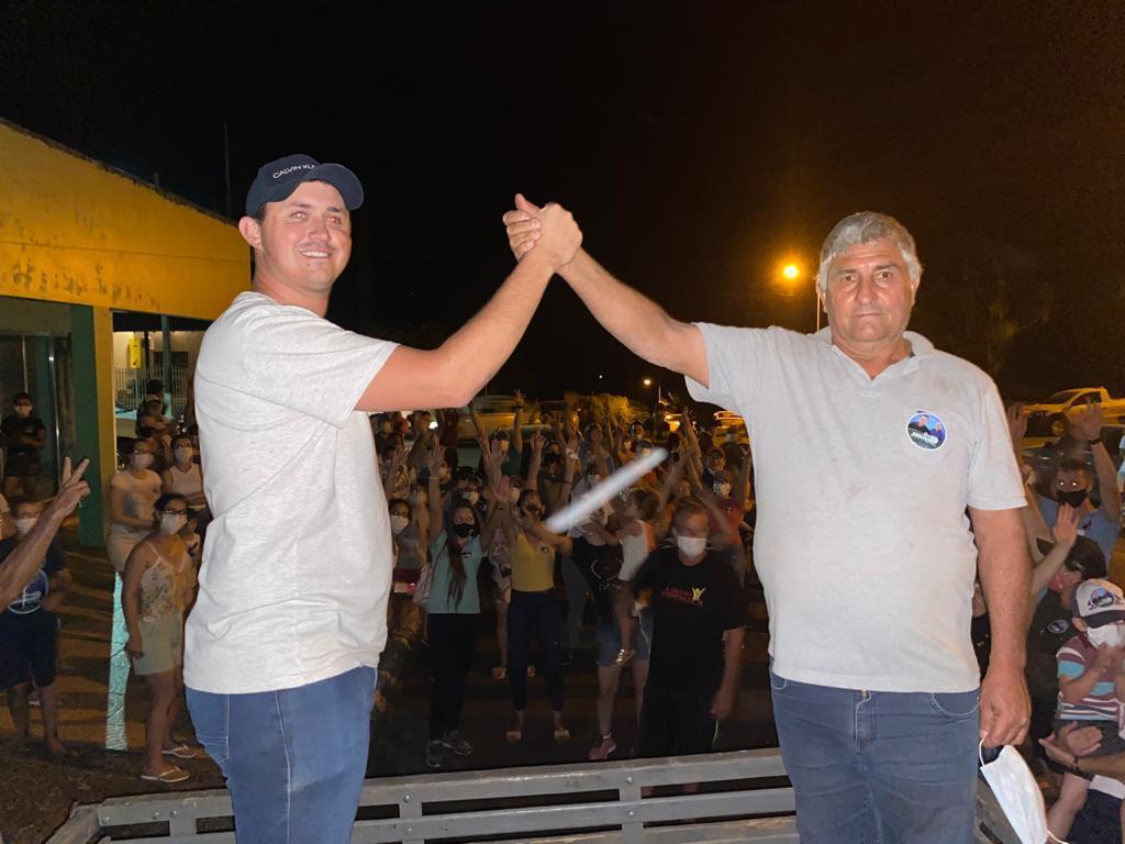 Juninho é eleito prefeito de Marquinho; confira os vereadores eleitos