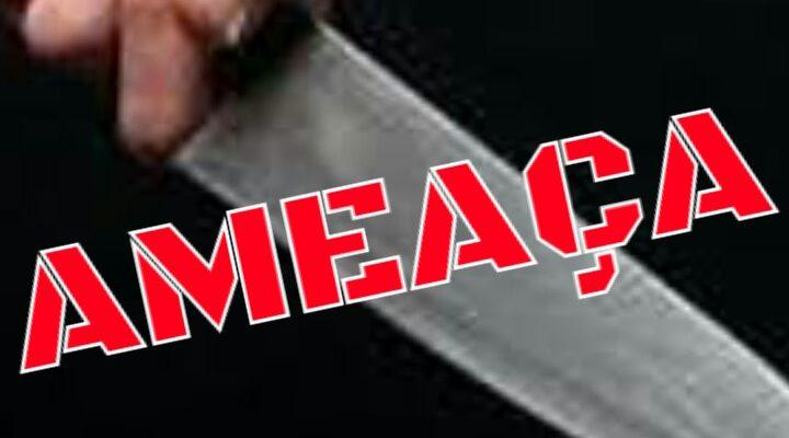 Idosa de 71 anos é ameaçada por homem armado com facão em Laranjeiras do Sul.