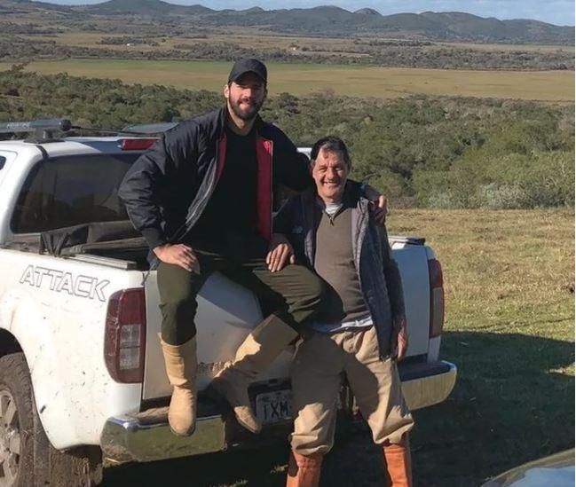 Pai dos goleiros Alisson e Muriel é encontrado morto após mergulhar em barragem no Rio Grande do Sul