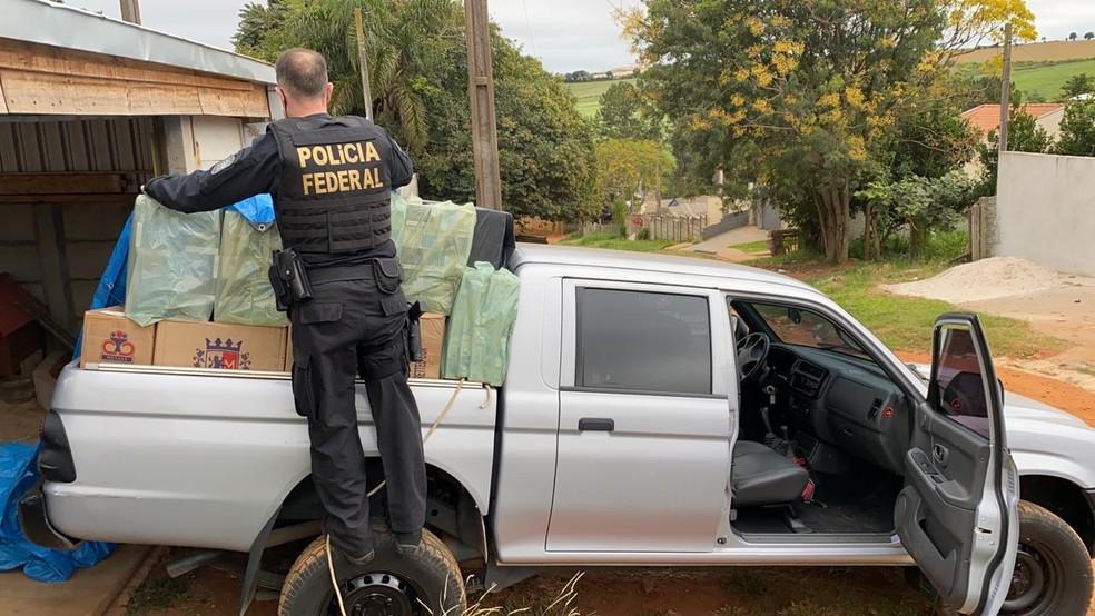 Policia Federal deflagrou operação contra contrabandistas de cigarros. Um dos alvos seria morador de Laranjeiras do Sul