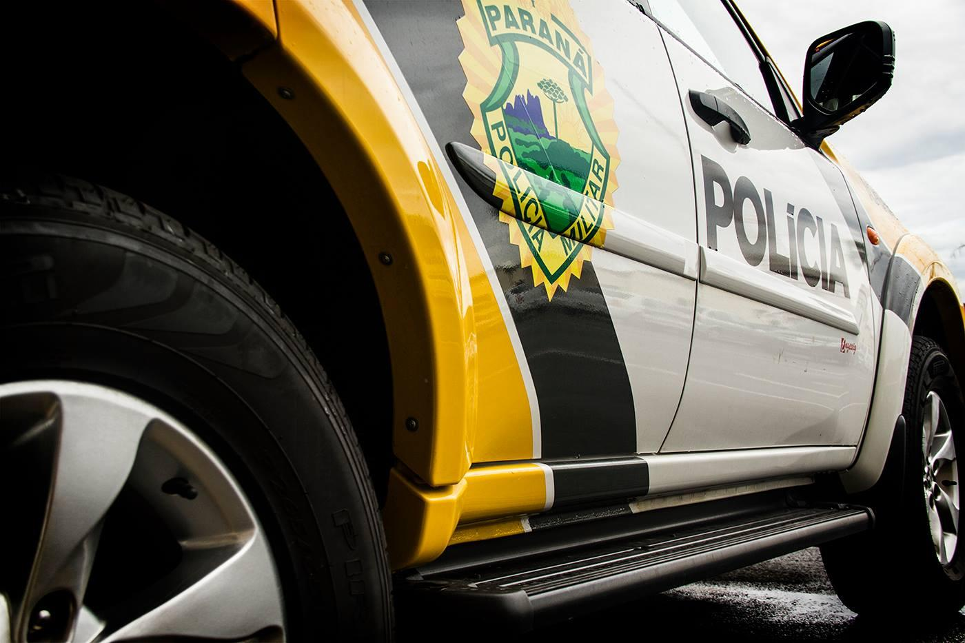 Policia encontra arma de fogo com mulher duranta a madrugada desta segunda, 03, em Laranjeiras do Sul