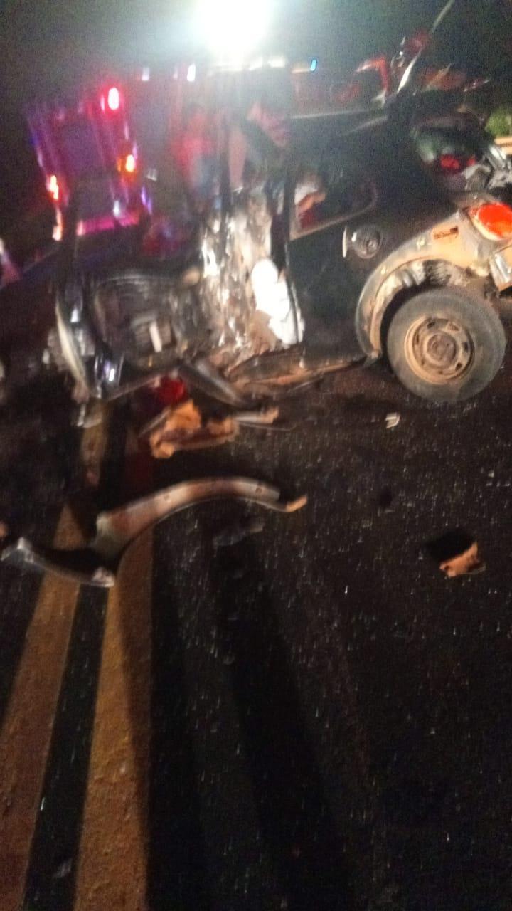 Grave acidente é registrado em Virmond na BR 277