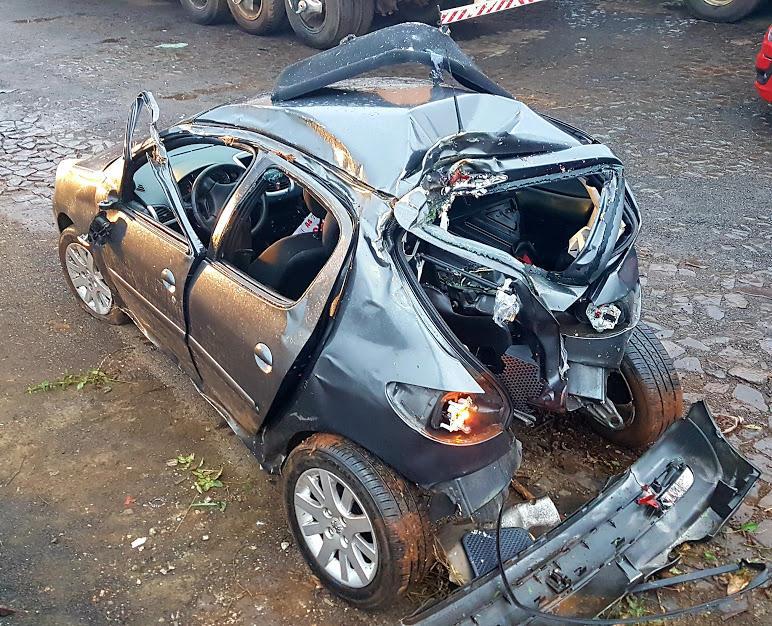 Acidente é registrado na BR 277 em Cantagalo