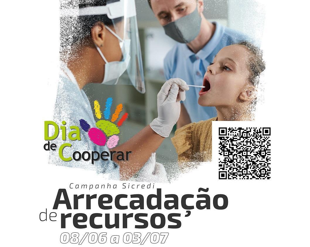 Sicredi realiza campanha para arrecadar recursos para hospitais de Laranjeiras do Sul em ação do Dia C