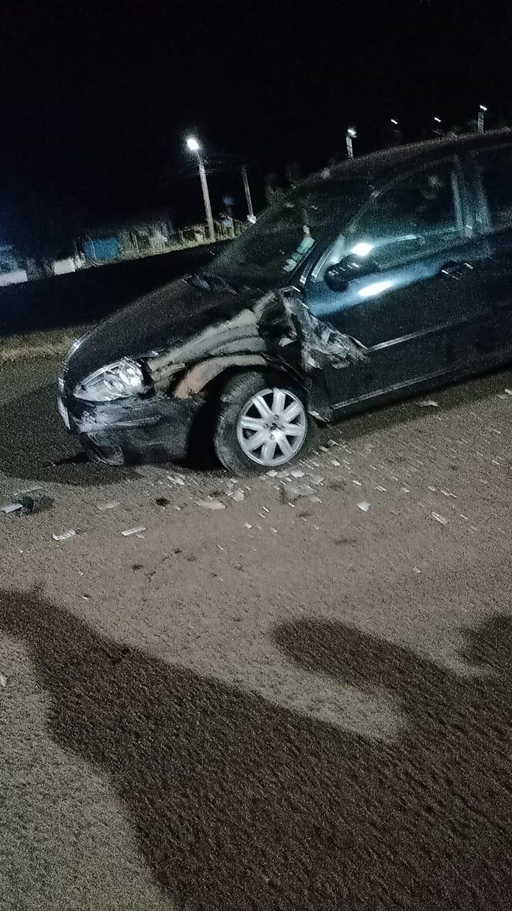 Acidente entre dois veículos é registrado em Laranjeiras