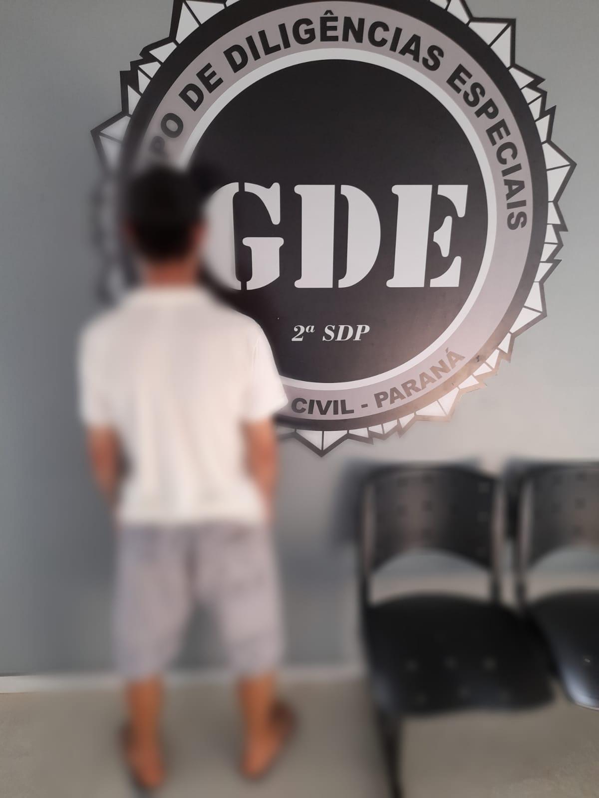 GDE prende individuo acusado de varios crimes em Laranjeiras do Sul