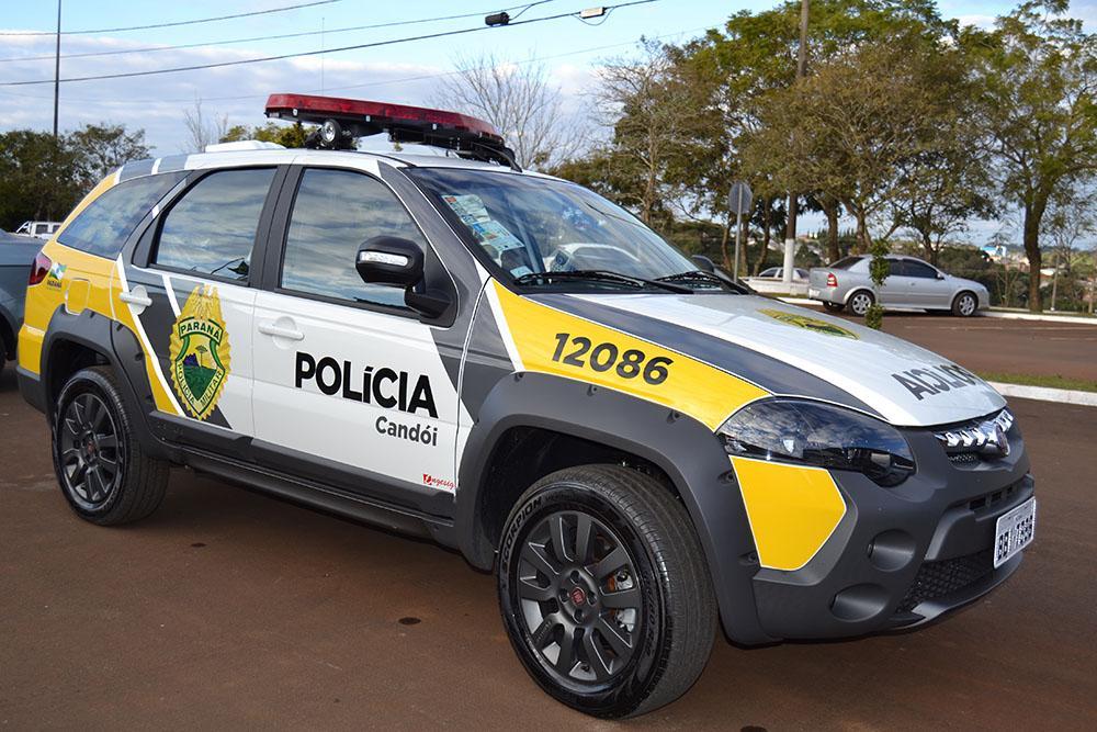 Após denúncia homem é preso por porte ilegal de arma em área rural em Candói